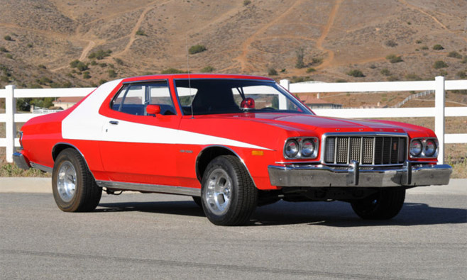Ford Gran Torino from Starsky and Hutch
