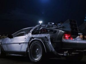 1982 Delorean from Back to the Future