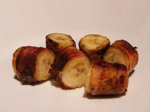Bacon Wrapped Banana