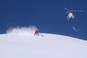 heli skiing adventures in British Columbia