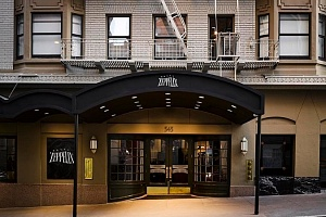 Hotel Zeppelin Front Entrance