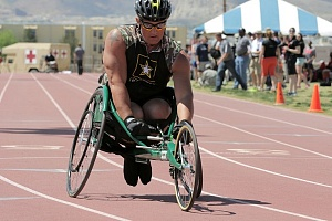 Army Wheelchair