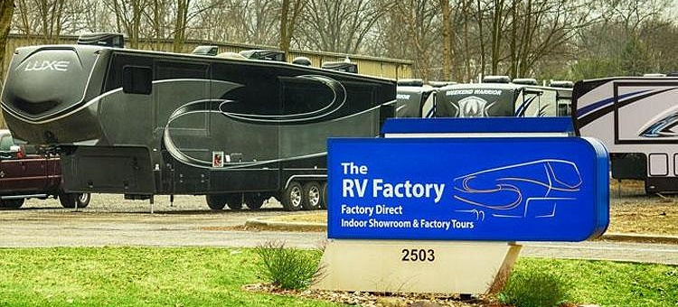places around the world where you can tour RV factories