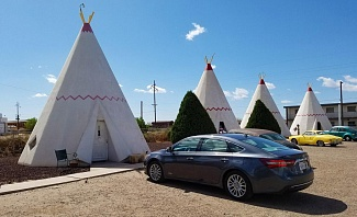 Wigwam Hotel is a Roadside Attraction on Route 66 in Arizona