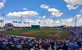 Goodyear Stadium Home of the Cleveland Indians