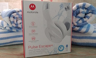 Motorola Pulse Escape+ Perfect for an Active Guy Who Travels