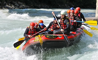 Sporting Vacation ideas including whitewater rafting and more.