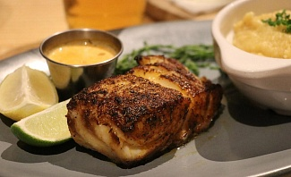 Blackened Grouper at Matt's Stock Island Kitchen & Bar in Key West Florida
