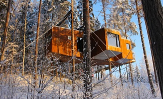 Swedish Treehouse Getaway