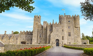 Kilkea Castle in Kildare Ireland is a great spot for an Irish Mancation
