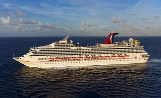 Carnival Sunshine now offers year-round cruises from Charleston, South Carolina