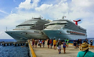Carnival Triumph sails from New Orleans to the Caribbean including stops at Cozumel