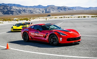 Ron Fellows Corvette Driving School in Pahrump Nevada