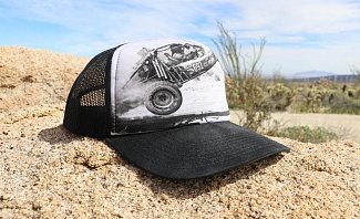 Send It printed cap from Dirt Co