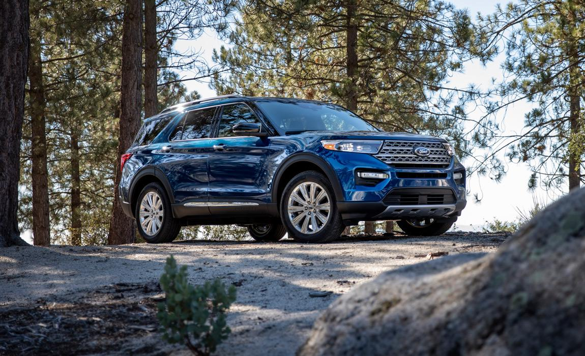 2020 Ford Explorer is the 6th generation of Ford's iconic SUV.