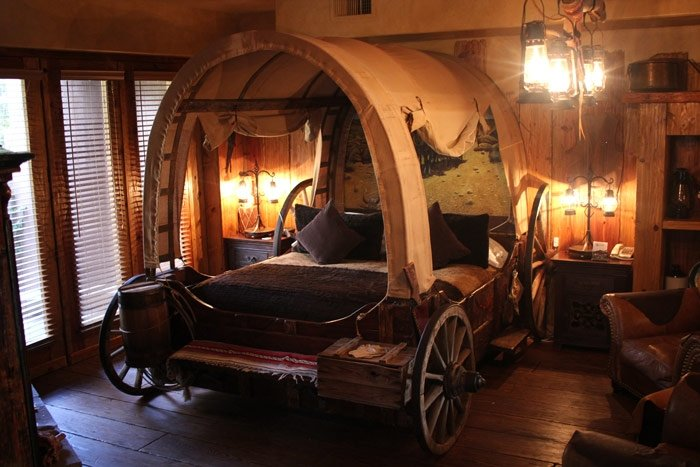 wagon bed