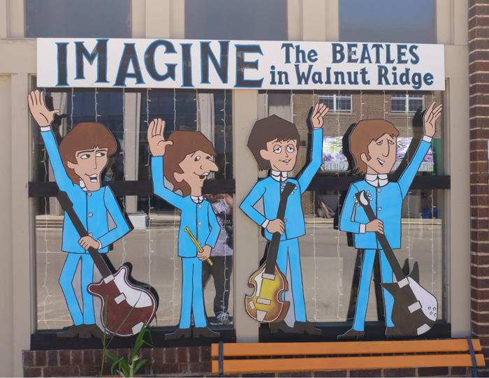 imagine the Beatles visit to walnut ridge Arkansas