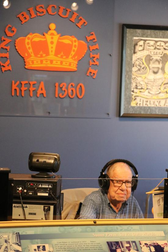 king biscuit time radio show recorded at the helena arkansas delta heritage center museum