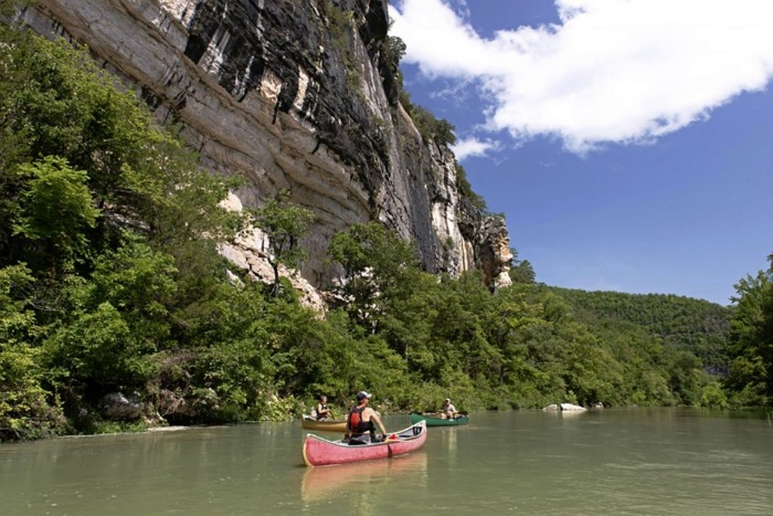 buffalo river canoeing