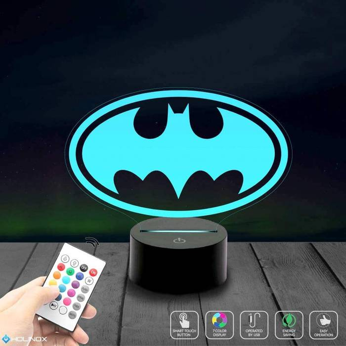batman bat signal lamp makes a great gift