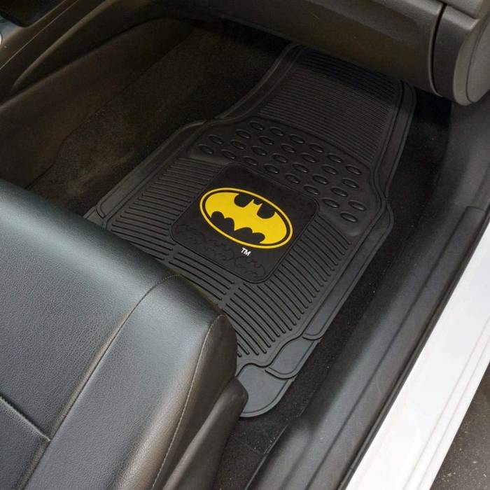 batman floor mats for your car