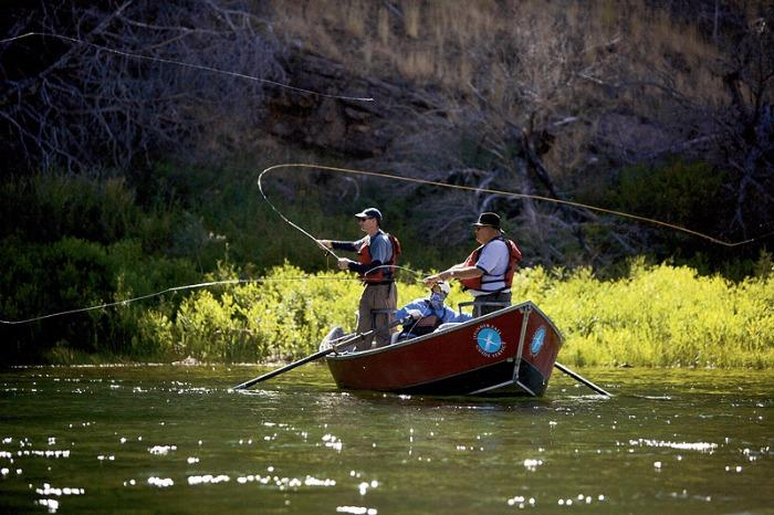 Best fishing spots in the united states for Best river fishing boat