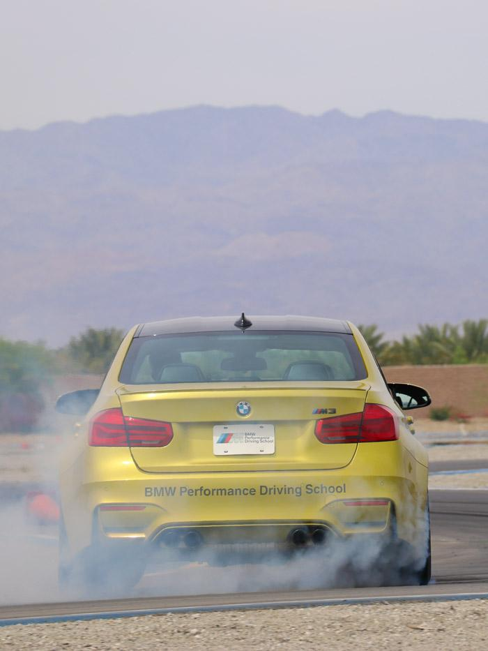 bmw performance driving center offers a one and two day m school
