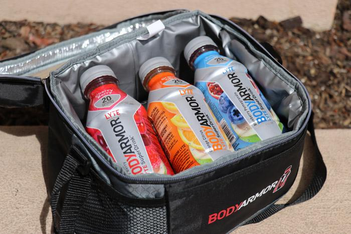 bodyarmor lyte in cooler bag