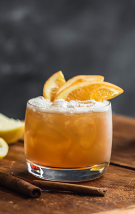 chai spiced bourbon