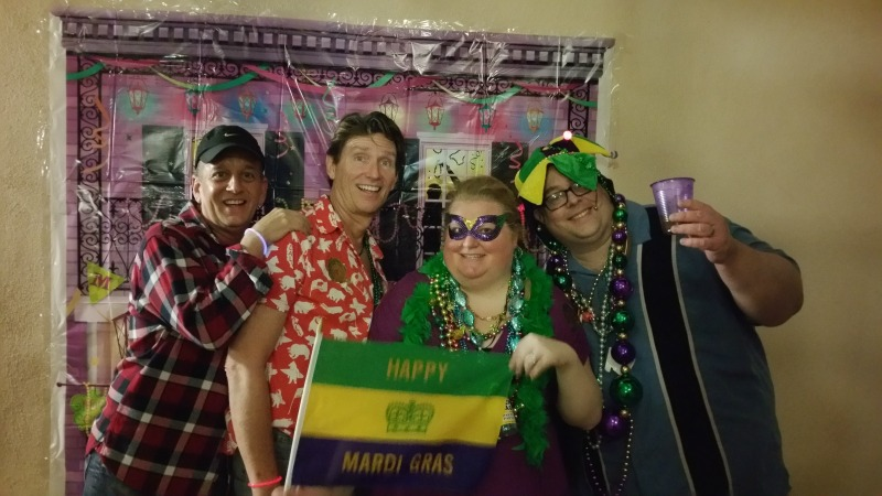 Celebrating Mardi Gras with a Progressive Cocktail Party