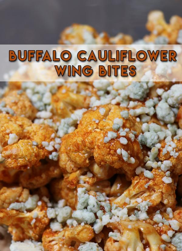 buffalo cauliflower wing bites recipe perfect for game night
