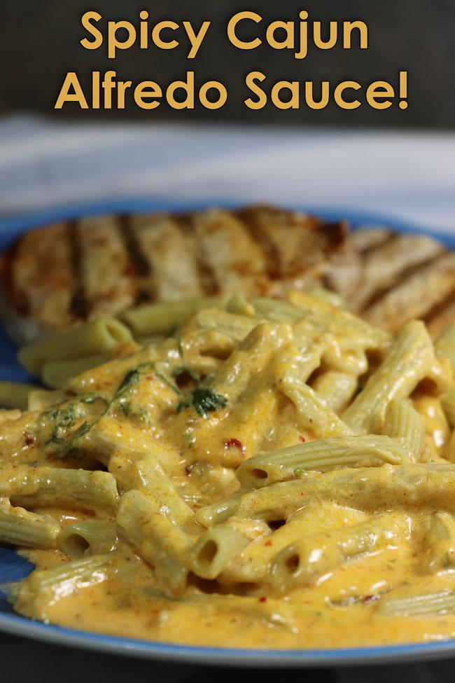 spicy cajun alfredo sauce pinterest recipe
