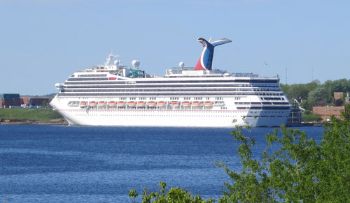 Carnival Glory in Sydney NB