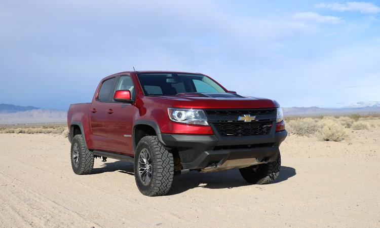chevy colorado zr2 front