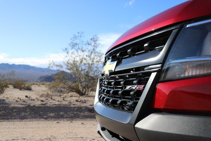 chevy colorado zr2 grille