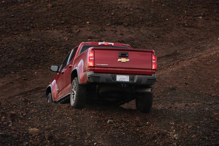 climbing pisgah crater colorado zr2 truck