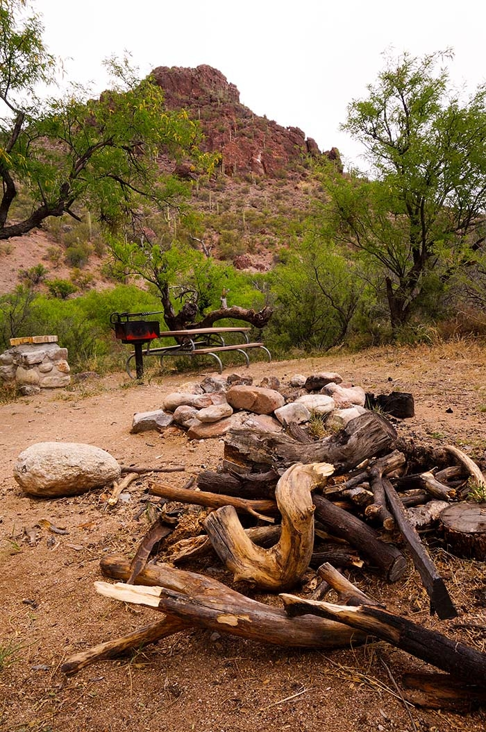 colossal cave mountain park camping