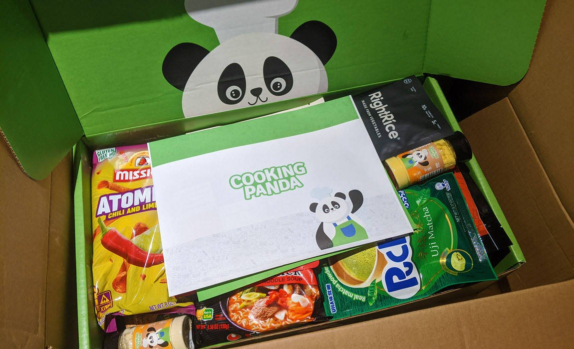 Cooking Panda Mystery Box Is Your Mega Sample Box For Foodies