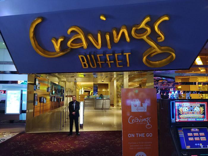 cravings buffet mirage resort las vegas