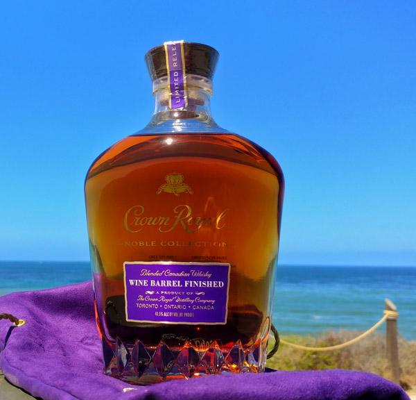 crown royal wine barrel finished bottle