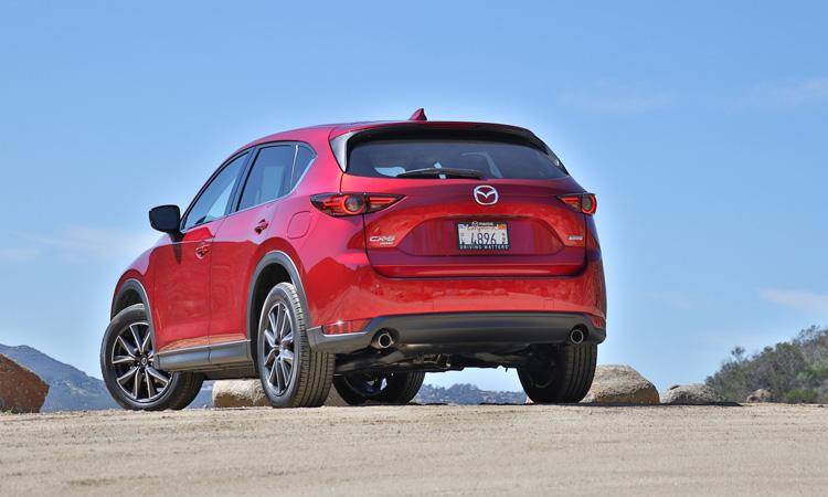 mazda cx 5 grand touring 2017 rear