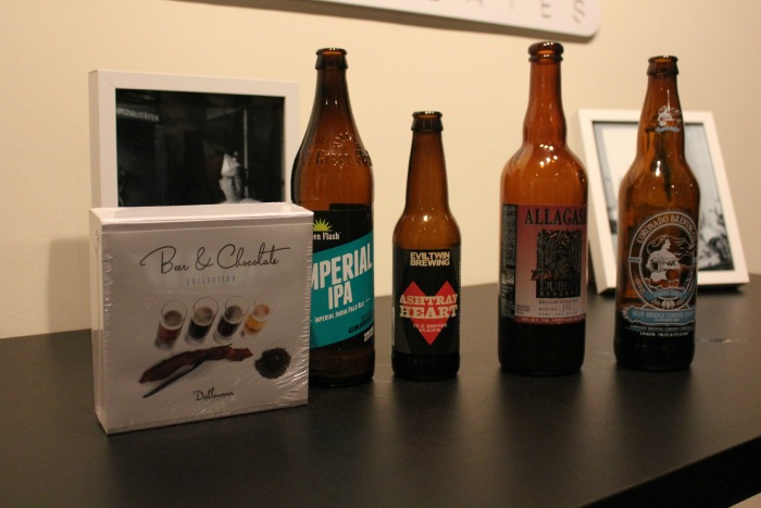 chocolates and beers