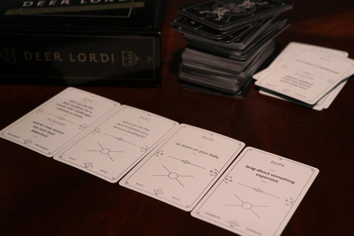 deer lord party card game