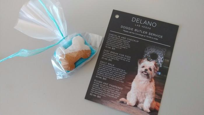 doggie butler services at delano las vegas