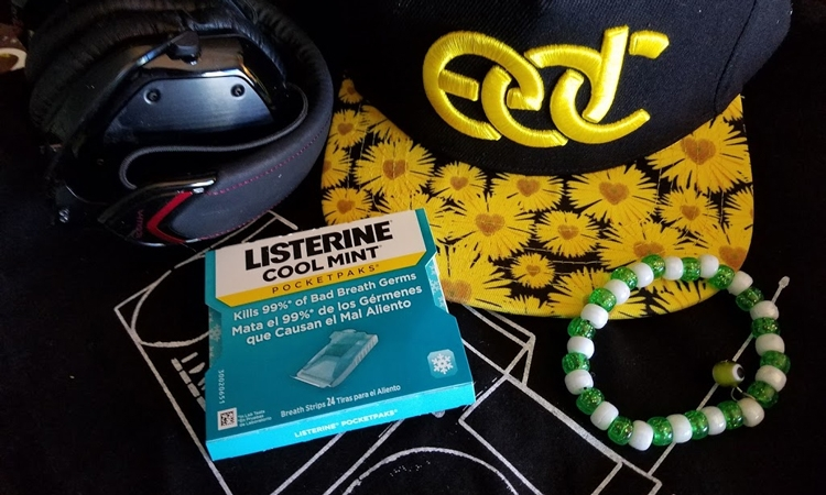 EDC Hat and Listerine Strips