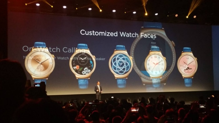 huawei watch press