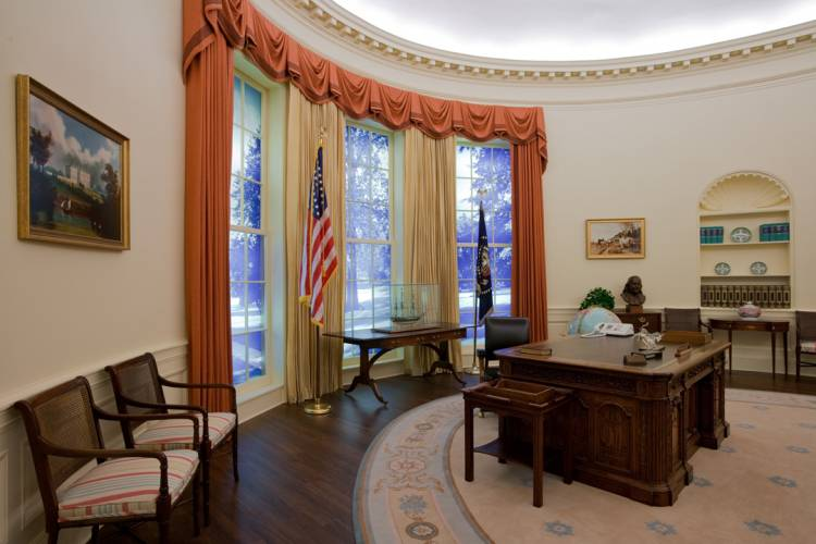 atlanta carter museum oval office