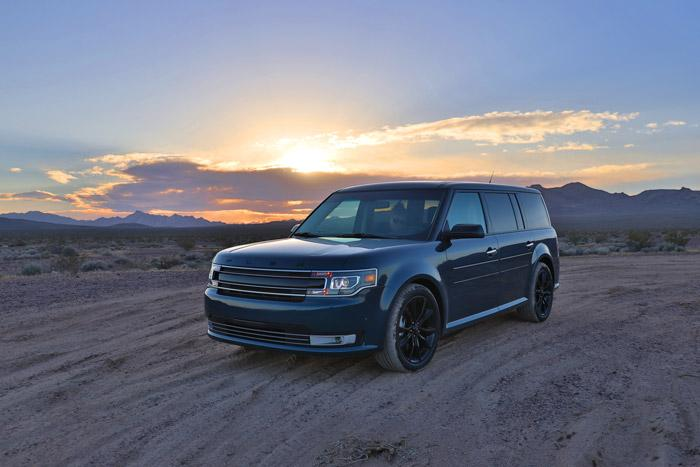 ford flex death valley sunset