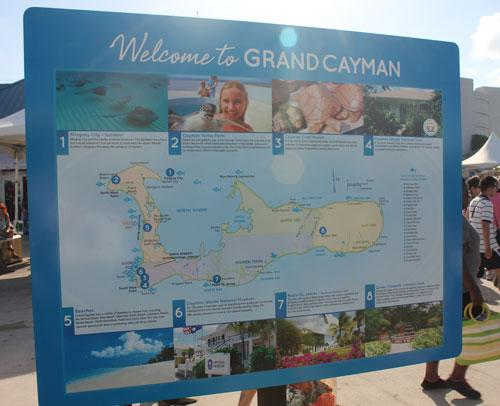 grand cayman map
