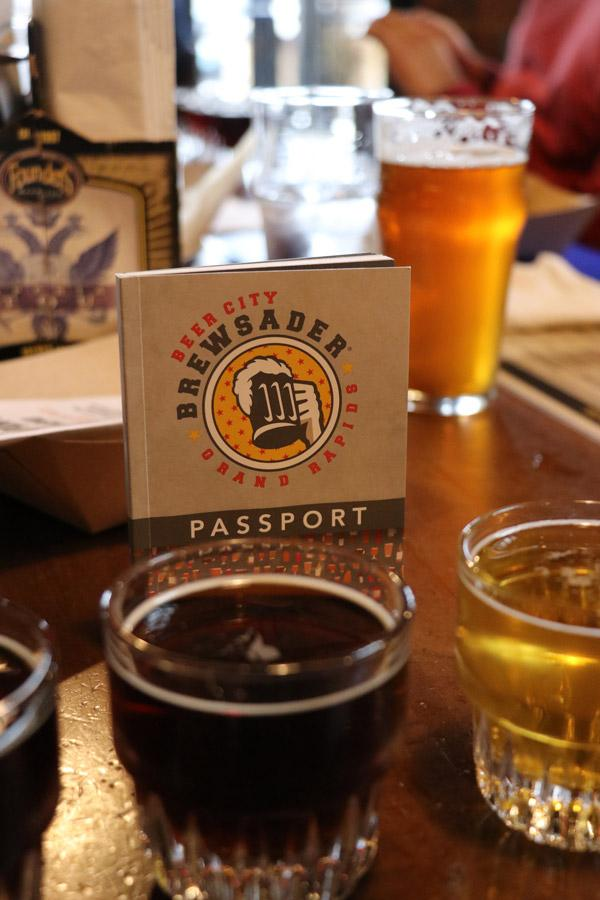 grand rapids michigan beercation with the beer city brewsader passport